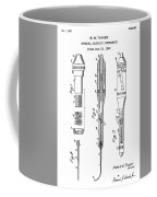 Patent Drawing For The 1953 Surgical Stitching Instruments By R. W. Thayer Coffee Mug