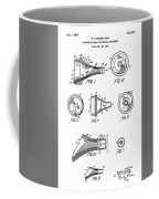 Patent Drawing For The 1962 Illuminating Means For Medical Instruments By W. C. More Etal Coffee Mug