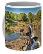 Paterson Water Falls Black And White Coffee Mug