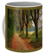 Path Along The Horses Meadow On The Farm Lovedayvale L B Coffee Mug