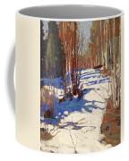 Path Behind Mowat Lodge Coffee Mug
