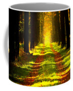 Path In The Forest 715 - Painting Coffee Mug