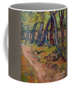 Path In The Garden Of The Asylum, By Vincent Van Gogh, 1889, Kro Coffee Mug