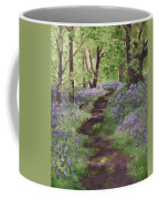 Path Through The Bluebells Coffee Mug