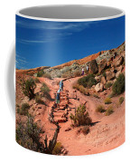 Path To Double O Arch Arches National Park Coffee Mug