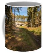 Path To St Cuthbert's Cave Coffee Mug