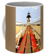 Path To The Lighthouse Coffee Mug