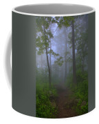 Pathway Through The Fog Coffee Mug