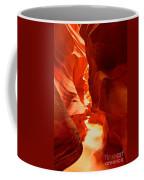 Pathway Through Upper Antelope Coffee Mug