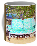 Patio Invitation Palm Springs Coffee Mug