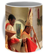 Patriarch Fouad Twal At Christmas Mass Coffee Mug