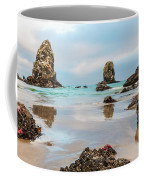 Patrick And Friends Visit Cannon Beach Coffee Mug