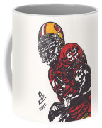 Patrick Willis Coffee Mug by Jeremiah Colley