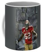 Patrick Willis San Francisco 49ers Blocks Coffee Mug