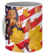 Patriotic Autumn Colors Coffee Mug