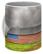Patriotic Barn Coffee Mug