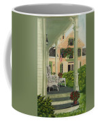 Patriotic Country Porch Coffee Mug