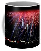 Patriotic Fireworks S F Bay Coffee Mug