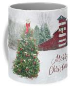Patriotic Merry Christmas Coffee Mug