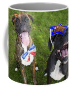 Patriotic Pups Coffee Mug