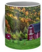 Patriotic Red Barn Coffee Mug