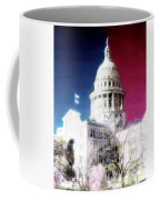 Patriotic Texas Capitol Coffee Mug