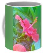 Pat's Hibiscus  Coffee Mug