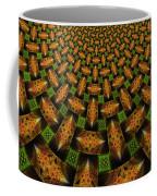 Pattern Brown With Green Coffee Mug