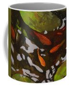 Patterns Of Green And Gold Coffee Mug
