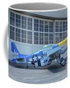 Paul 1 P-51d Mustang Coffee Mug