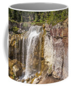 Paulina Creek Falls From The Top Coffee Mug