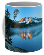 Paulina Peak In Paulina Lake Coffee Mug