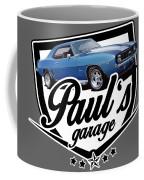 Pauls Garage Camaro Coffee Mug