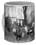 Pavlovs Dogs With Their Keepers, 1904 Coffee Mug