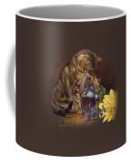 Paw In The Vase Coffee Mug