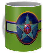 Pax Americana Decal Coffee Mug by Charles Stuart