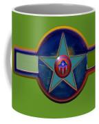 Pax Americana Decal Coffee Mug by Charles Stuart