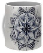 Paynes Gray Mandala2 Coffee Mug