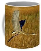 Pb296601 Great Blue Heron Coffee Mug