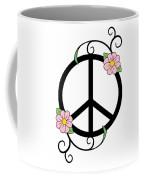 Peace And Daisies Coffee Mug