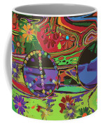 Peace Art Coffee Mug by Eleni Mac Synodinos