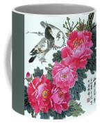 Peace Flowers Coffee Mug