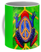 Peace Frog Too Coffee Mug