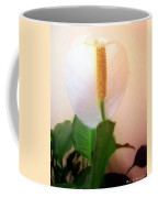 Peace Lily Luminous Coffee Mug