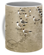 Peace On The Beach Coffee Mug
