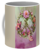 Peace Rose Coffee Mug