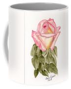Peace Rosebud Coffee Mug