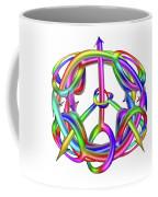 Peaceful Dicks  Coffee Mug