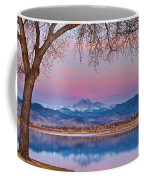Peaceful Early Morning First Light Longs Peak View Coffee Mug