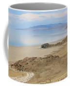 Peaceful Moments By The Salt Lake 4 Coffee Mug